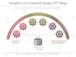 Apt Analytical Crm Graphical Design Ppt Slides