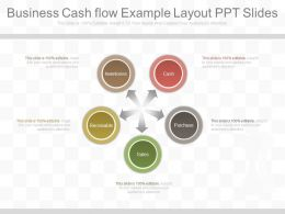 Apt Business Cash Flow Example Layout Ppt Slides