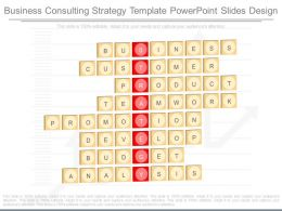 Apt Business Consulting Strategy Template Powerpoint Slides Design