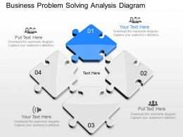 apt Business Problem Solving Analysis Diagram Powerpoint Template