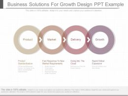 Apt Business Solutions For Growth Design Ppt Example