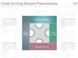 Apt Credit Scoring Sample Presentations
