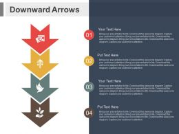 apt_downward_arrows_and_icons_for_financial_process_flow_flat_powerpoint_design_Slide01