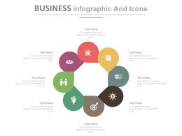 apt Eight Staged Business Infographics And Icons Flat Powerpoint Design