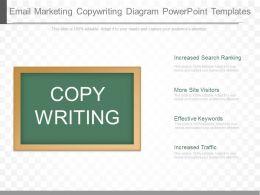 Apt Email Marketing Copywriting Diagram Powerpoint Templates