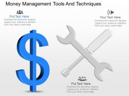 apt Money Management Tools And Techniques Powerpoint Template