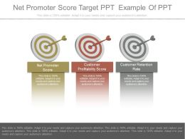 Apt Net Promoter Score Target Ppt Example Of Ppt