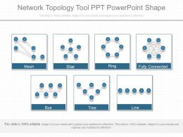 Apt Network Topology Tool Ppt Powerpoint Shape