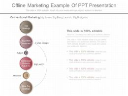 Apt Offline Marketing Example Of Ppt Presentation