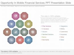 Apt Opportunity In Mobile Financial Services Ppt Presentation Slide