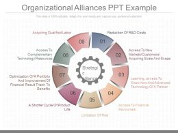 Apt Organizational Alliances Ppt Example