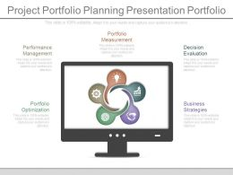 Apt Project Portfolio Planning Presentation Portfolio