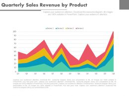 apt Quarterly Sales Revenue By Product Powerpoint Slides