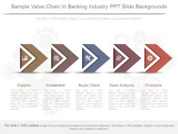 Apt Sample Value Chain In Banking Industry Ppt Slide Backgrounds
