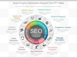Apt Search Engine Optimization Keyword Tool Ppt Slides