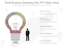 Apt Small Business Marketing Plan Ppt Slides Show