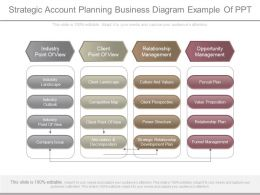 Apt Strategic Account Planning Business Diagram Example Of Ppt