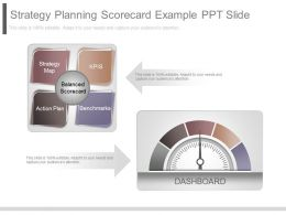 Apt Strategy Planning Scorecard Example Ppt Slide