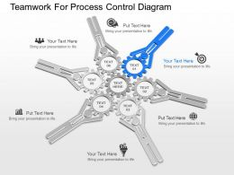 apt Teamwork For Process Control Diagram Powerpoint Template