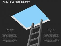 apt Way To Success Diagram Flat Powerpoint Design