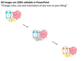 ar_clock_with_gold_coins_and_piggy_bank_flat_powerpoint_design_Slide02
