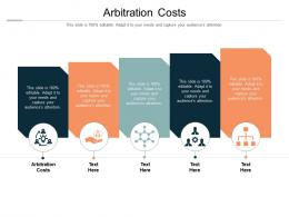 Arbitration Costs Ppt Powerpoint Presentation Slides Background Image Cpb