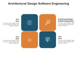 Architectural Design Software Engineering Ppt Powerpoint Presentation Outline Shapes Cpb