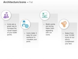 architectural_discussion_process_control_data_analysis_chart_gears_ppt_icons_graphics_Slide01