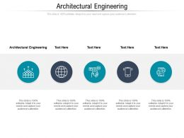 Architectural Engineering Ppt Powerpoint Presentation Layouts Themes Cpb