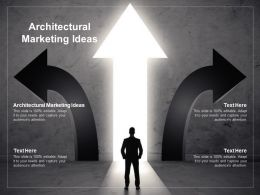 Architectural Marketing Ideas Ppt Powerpoint Presentation Slides Maker Cpb