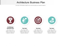 Architecture Business Plan Ppt Powerpoint Presentation Portfolio Themes Cpb