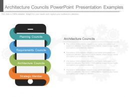 Architecture Councils Powerpoint Presentation Examples