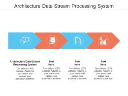 Architecture Data Stream Processing System Ppt Powerpoint Presentation Summary Structure Cpb