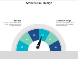Architecture Design Ppt Powerpoint Presentation File Deck Cpb