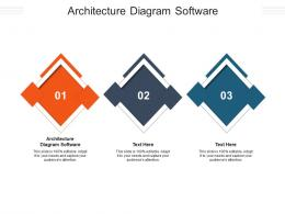 Architecture Diagram Software Ppt Powerpoint Presentation Visual Aids Example 2015 Cpb