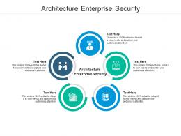 Architecture Enterprise Security Ppt Powerpoint Presentation Model Layout Cpb