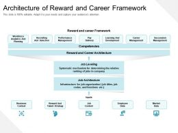 Architecture Of Reward And Career Framework
