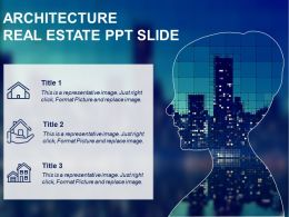 Architecture Real Estate Ppt Slide Good Ppt Example