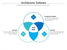 Architecture Software Ppt Powerpoint Presentation Infographic Template Slides Cpb