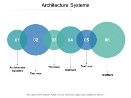 Architecture Systems Ppt Powerpoint Presentation Infographic Template Summary Cpb