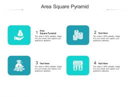 Area Square Pyramid Ppt Powerpoint Presentation Model Samples Cpb