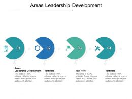 Areas Leadership Development Ppt Powerpoint Presentation Styles Samples Cpb