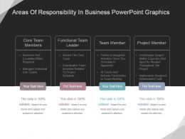 Areas Of Responsibility In Business Powerpoint Graphics