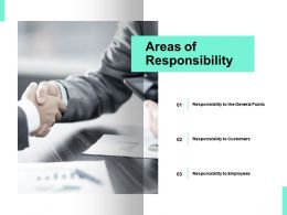 Areas Of Responsibility Opportunity Ppt Powerpoint Presentation Icon Template