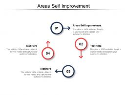 Areas Self Improvement Ppt Powerpoint Presentation Outline Graphics Tutorials Cpb