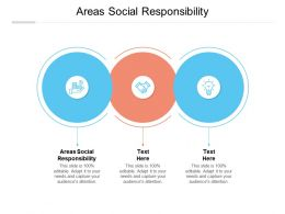 Areas Social Responsibility Ppt Powerpoint Presentation Infographics Graphics Cpb