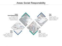 Areas Social Responsibility Ppt Powerpoint Presentation Summary Themes Cpb