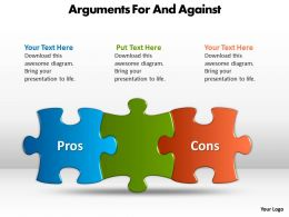 Arguments For And Against 5