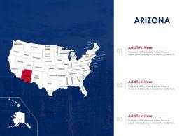 Arizona Powerpoint Presentation PPT Template