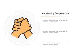 Arm Wrestling Competition Icon
